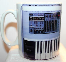 Custom Roland Fantom G6 Keyboard synthesizer novelty mug