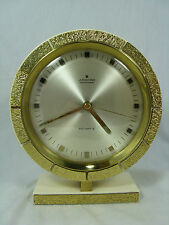 Very unusual 70´s design JUNGHANS Atomat TABLE CLOCK OROLOGIO TAVOLO working condition