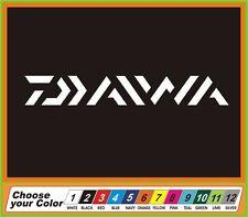 "7"" Fishing DIAWA fish tackle Vinyl Decal Sticker window Car Truck boat"