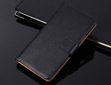 Genuine Leather Flip Case Cover Wallet Card Holder For Microsoft NOKIA Lumia