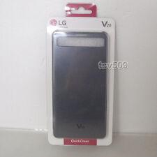 Genuine LG V20 Quick Window Cover Flip Case CFV-260 Black For V20