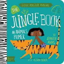 The Jungle Book : An Animal Primer by Jennifer Adams (2014, Board Book)