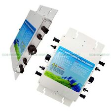 1200W 230V Waterproof Grid Tie MPPT Inverter MC4 Connector for Solar Panel