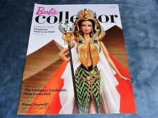 Barbie Collector Catalog, Fall 2010, Cleopatra Doll Cover, Athena on back