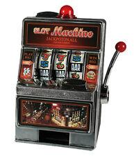 Spardose Spielautomat Slot Machine mit Licht und Sound Sparbüchse Sparschwein