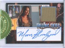 "MOON BLOODGOOD ""ANNE GLASS AUTOGRAPH COSTUME CARD"" FALLING SKIES SEASON 1"