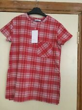 Check t-shirt, size M, from Zara
