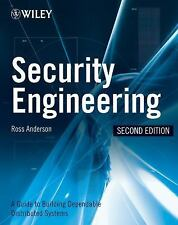 Security Engineering: A Guide to Building Dependable Distributed Systems, Ross J