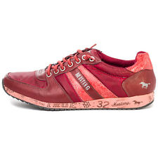Mustang 4104401 Mens Trainers Dark Red Brand New Shoes Size 42 EU
