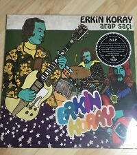 VINTAGE TURKISH PSYCH FUZZ SAZ E-Rock 2x LP Erkin Koray ARAP SACI - Baris Manco