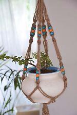 handmade Macrame Jute plant hanger plant holder 24 inches