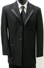 "Black Oscar de la Renta ""La Vida"" Four Button Tuxedo Jacket *Free Shipping* 34R"