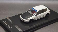 1/64 Tarmac works Honda Civic EG6 JTCC Group A White Black (Size kyosho Tomica )