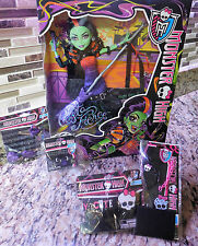 Doll Monster High Lot- Casta Fierce Bracelet Necklace Hair Clips Ring- Gift Idea