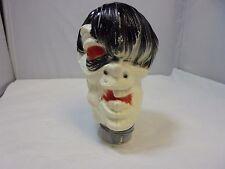 Vintage Halloween Unusual Blowmold Plastic Lawn Stick Monster Frankenstein Head