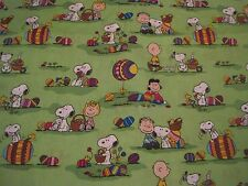 """OOP! """"SNOOPY EASTER EGG HUNT"""" ON GREEN - RELEASED 2014 - FQ - 18""""X22"""""""