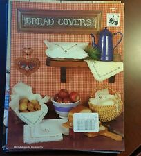 Bread Covers cross stitch patterns, leaflet 21, 1983