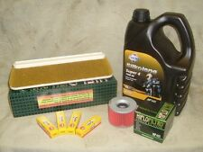 Kawasaki GPZ900R Service Kit NGK/Air & Oil Filter/Super 4 GPZ900 GPZ 900R 900 R