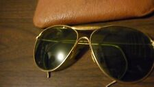 WW2 US Pilot Aviator Sunglasses AN-6531 W/ Leather Case