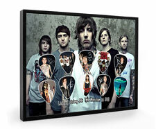 Bring Me The Horizon Framed Guitar Pick Display Limited to 500