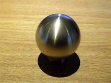 Gearknob, Mazda MX-5, ball, heavyweight brushed brass MX5 gear knob, hand made
