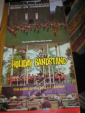 LOT OF 2 LP'S-BAND OF THE WELSH GUARDS HOLIDAY BANDSTAND & MUSIC ON COMMAND