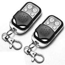 2 x Universal Cloning Remote Control Key Fob for Car Garage Door Electric Gate E