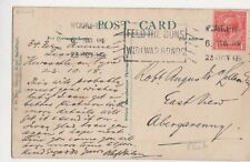 Robert Angus McLellan Esq., East View, Abergavenny 1918 Postcard, B377