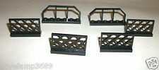 6583 (x2 3185 (x4 Black Fence Lattice 4 LEGO SET 4954 4645 4956 7685 8709 8653