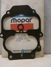 4240135 Carburetor Body Gasket, OEM NOS Mopar Dodge, Free US Ship