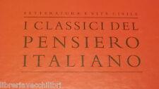 OPERE Alessandro Manzoni Letteratura e vita civile I classici pensiero italiano