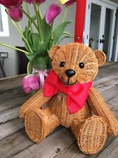 """Kate Spade New York """"Flavor Of The Month Wicker Teddy Bear"""" Bag, NWT"""
