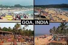 SOUVENIR FRIDGE MAGNET of GOA INDIA