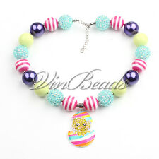 Chickling Pendant Gumball Bubblegum Chunky bead Kids Necklace For Gift
