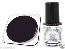 5ml pintura de stamping para konad Nail, sellos barniz, color: Berry, sl-037
