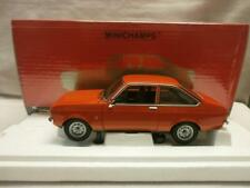 MINICHAMPS FORD ESCORT MKll 1.3 ORANGE 1975 BNIB 1:18