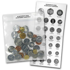 World Set 50-Coins of 50 Countries - SKU #87251