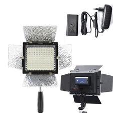 YN-160 LED Video Light + AC Power For Canon 5D III 7D II 7D 70D 700D 650D 760D