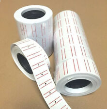300Pcs*10 Rolls Price Pricing Label Paper Tag Tagging For MX-5500 Labeller Gun