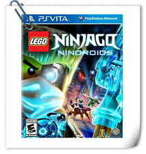 PSV PlayStation VITA LEGO NINJAGO NINDROIDS Strategy Warner Home Video Games