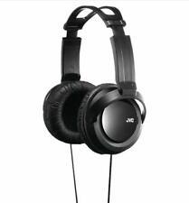 JVC Full Size Stereo Headphones Black StrongBass 12-22KHz 8.2 Ft Cord Black New