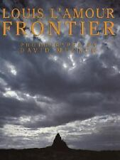 FRONTIER by Louis L'Amour (1984, Hardcover)- Words & Photos of American Frontier