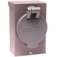 Reliance Controls 30-Amp (3-Prong) Power Inlet Box