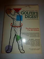 Golfer's Digest 3rd Anniversary DeLuxe Edition  1968 PB  B184