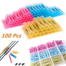 100pcs New HSC Car Auto waterproof heat shrinkable middle terminal Connectors