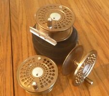 MARRYAT MR8 MACHINED FLY REEL WITH 2 EXTRA SPOOLS