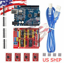 CNC kit #1 UNO R3 ATmega328P CH340G & Shield & 4X A4988 Drivers for Arduino