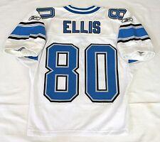 #80 Devale Ellis Authentic Game Issued Detroit Lions Jersey