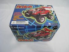 RADIO SHACK 60-4199 RC Fire Bolt TRUCK VEHICLE  Box Foam Remote Control FIREBOLT