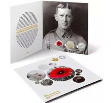 2015 Canada Poppy Remembrance Collector's Card For 2$ & 25c Coins Sold Out @Mint